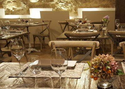 Interior Restaurante el Reloj