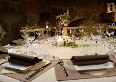 Mesas Restaurante el Reloj