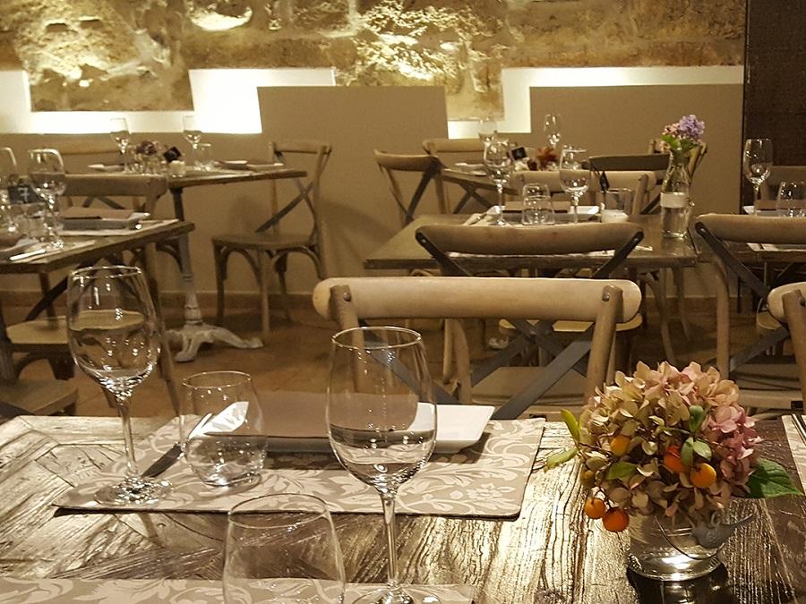 Interior Restaurante El Reloj en Navacerrada