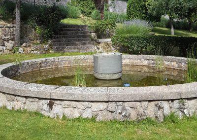 Fuente jardín Casa Bonita