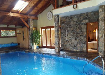 Interior piscina Casa Bonita