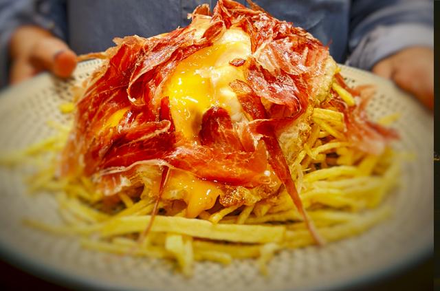 Risotto de albahaca con tomate seco